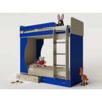 Кровать двухъярусная детская «Карлсон-4» с лестницей