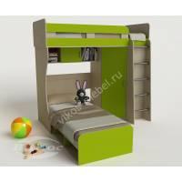 Детская кровать «Карлсон-3» со шкафом