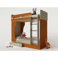 Модульная двухъярусная кровать «Карлсон-4» для детей