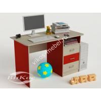 Стол мебельный компьютерный для детей с ящиками