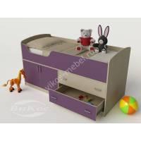 Модульная кровать-чердак «Карлсон-микро» для детей