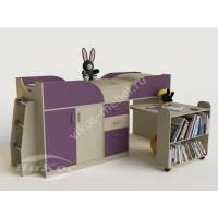 Невысокая кровать чердак «Карлсон-мини» для детей от 3 лет
