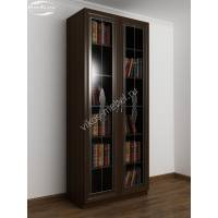 Шкаф книжный 2-х створчатый со стеклянными дверцами