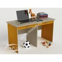 Стол для дома письменный детский цвет желтый