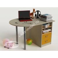 Письменный стол для первоклассника цвет желтый