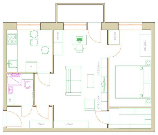 100 лучших идей дизайн комнаты в хрущевке стильный