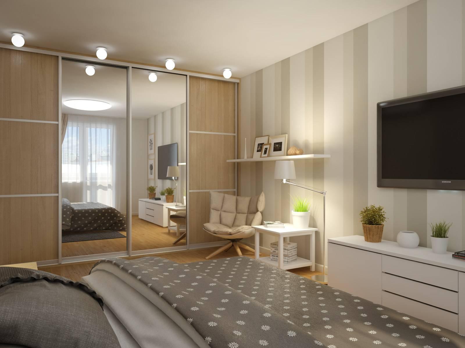 Как расставить мебель в однокомнатной квартире