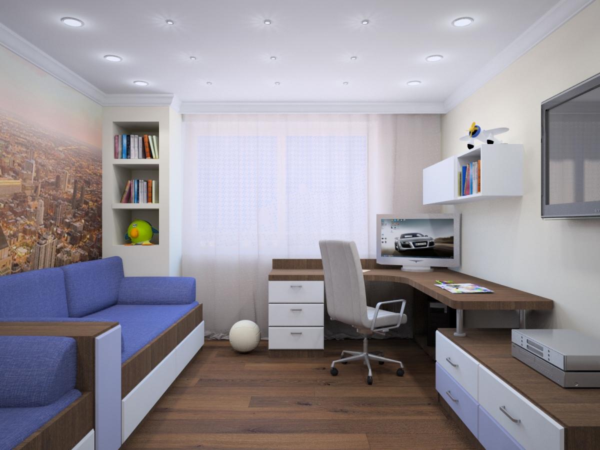 Комната 7 кв м дизайн