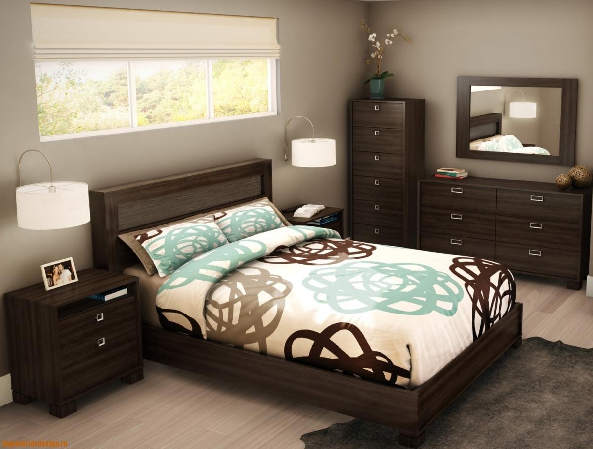 Как обустроить спальню маленькую