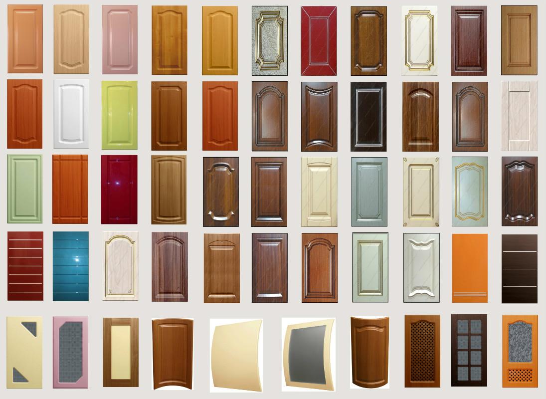 разноцветные фасады мдф